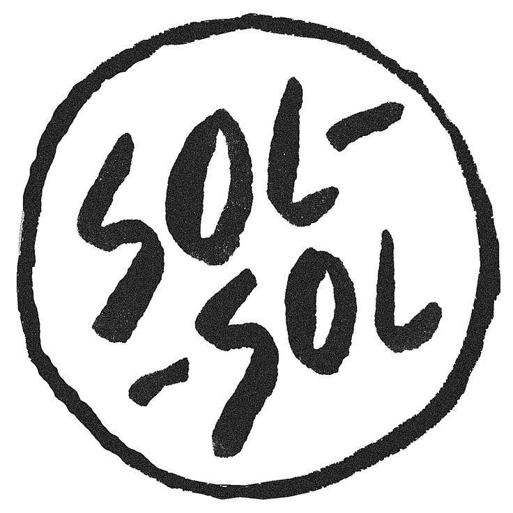 SOL-SOL logo Seoul Street Fashion 서울 스타일