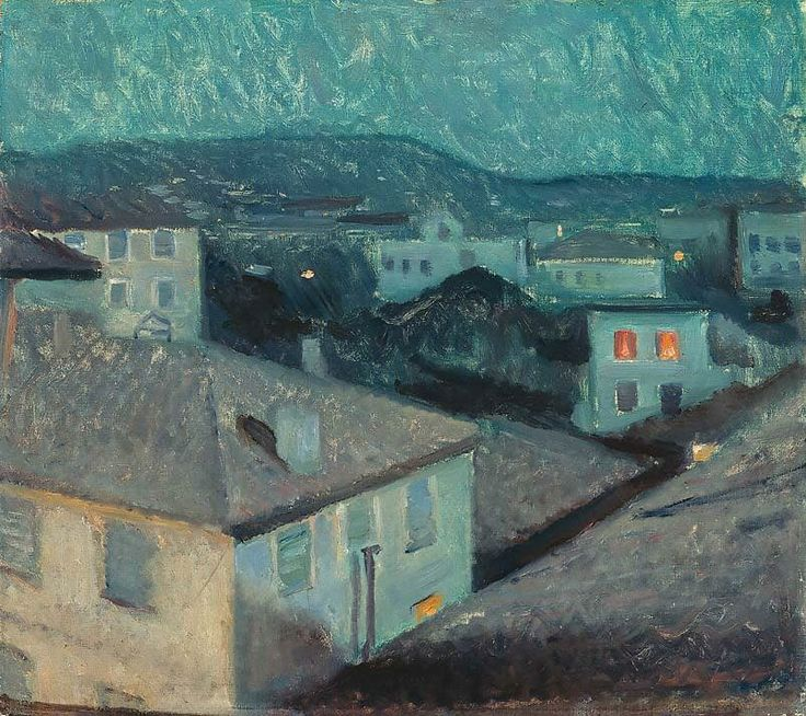 Munch - Nuit à Nice