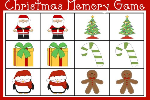 http://www.alittlepinchofperfect.com/2014/12/christmas-printable-memory-game-for-kids.html