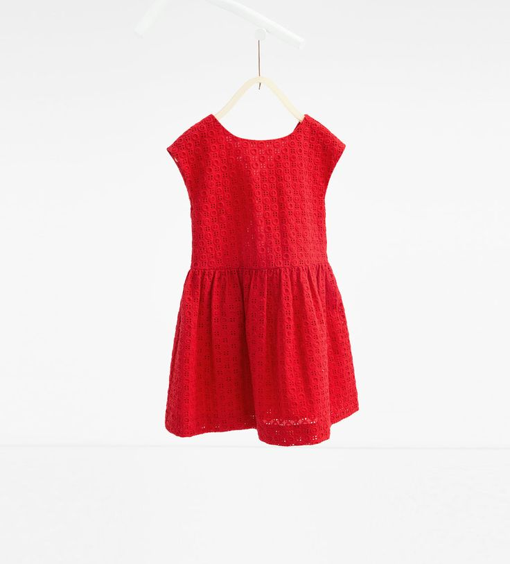 Image 1 of Dress with back bow from Zara