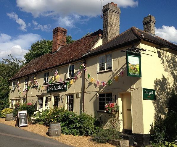 The Plough - Great Chesterford, Essex Dog Friendly A wonderful 17th Century inn, serving great food, wines and ales.