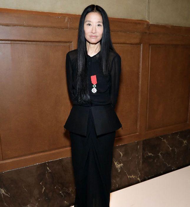 Вера Вонг 28 февраля 2017 года на вручении Национального ордена Почетного легиона