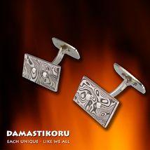 Kalvosinnapit / Cufflinks 12 x 21mm with silver mechanism