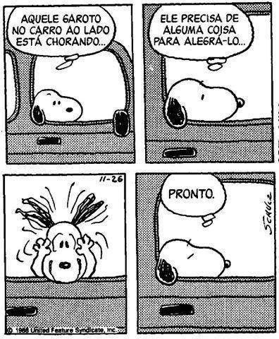 Snoopy <3                                                                                                                                                      aí como eu amo