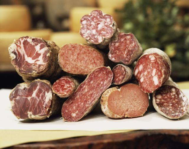 A guide to some of the most common Italian salamis, cold cuts and charcuterie.