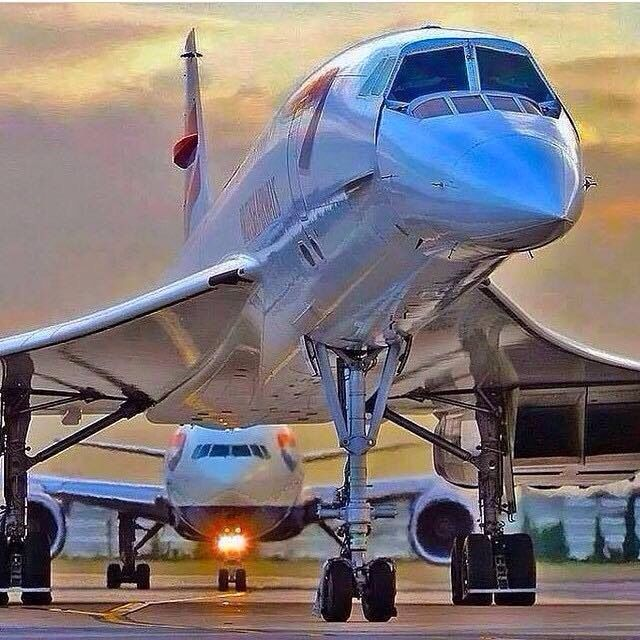 Concorde and BA B7