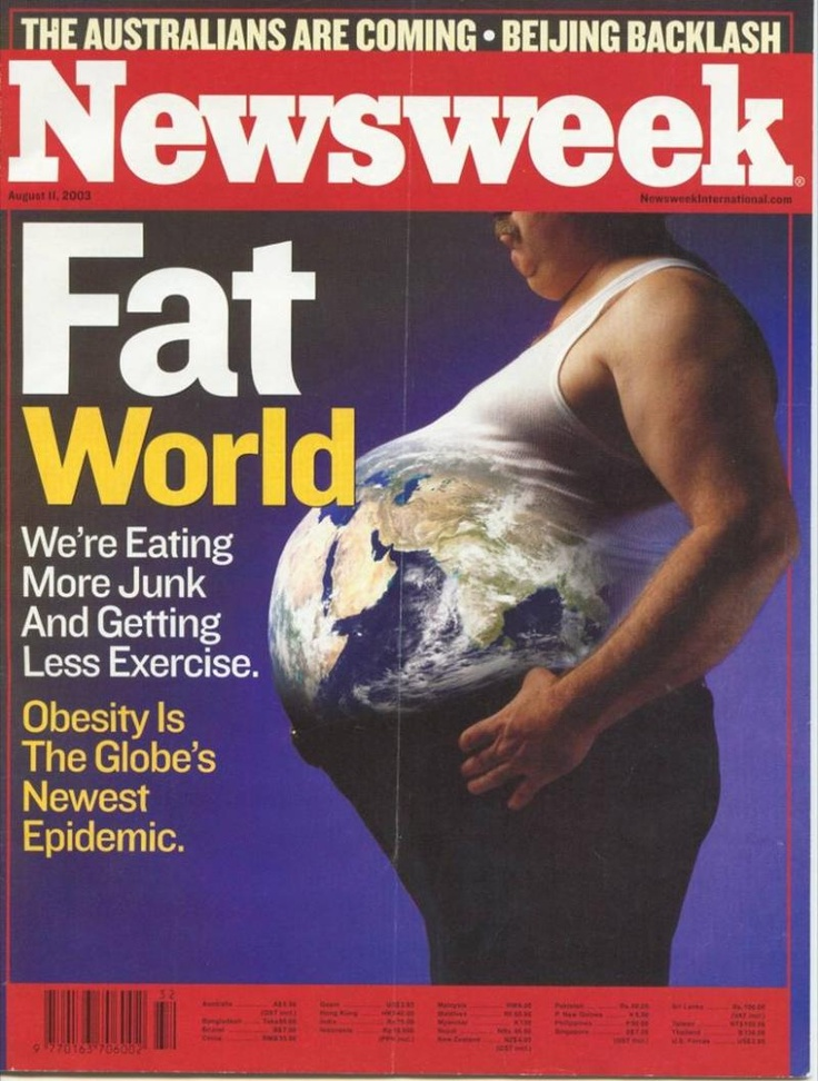 Fat World #Newsweek