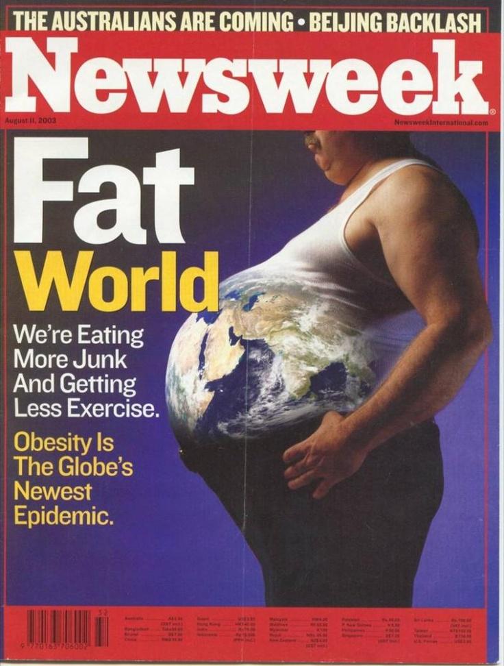 Fat World #Newsweek