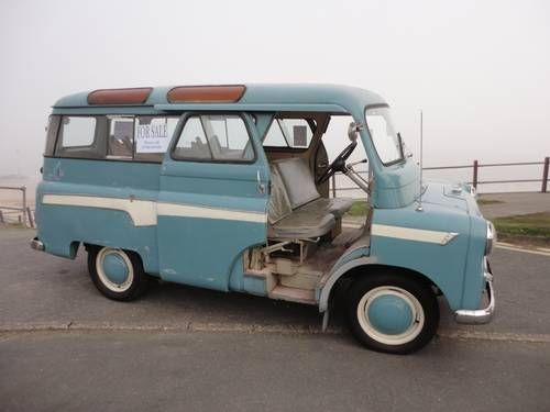 bedford ca van minibus 1 owner 27 000 miles for sale 1960. Black Bedroom Furniture Sets. Home Design Ideas