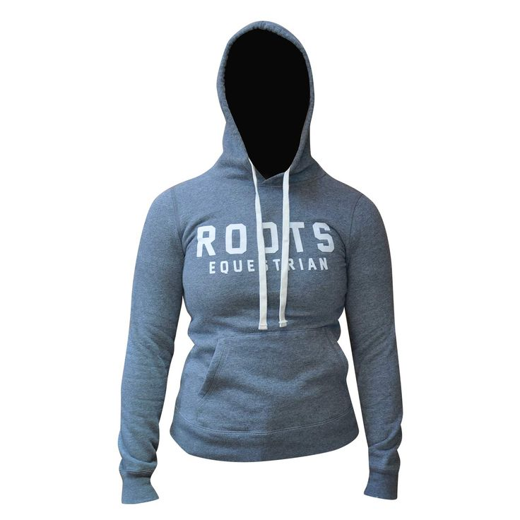 ROOTS EQUESTRIAN KANGA HOODY Warm and cozy, perfect at home or at the barn. Soft fleece interior, Roots Equestrian detailing and kanga style front pocket. Eggshell Mix. Sizes: XS - XL. DRC8422 GREAT PRICE: $94.99 *PRICES VALID SEPTEMBER 1ST – JANUARY 31ST, 2016