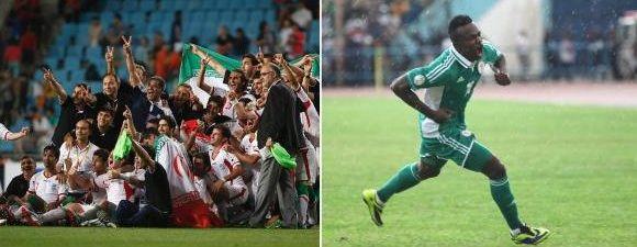 Na Segunda-feira, DIA de Junho de 2014 a seleção do Irã enfrenta a seleção da Nigéria em um dos Jogos da Copa do Mundo 2014 no Brasil. O jogo acontece na Arena da Baixada, em Curitiba - Paraná às 16h (horário de Brasília) #copa2014