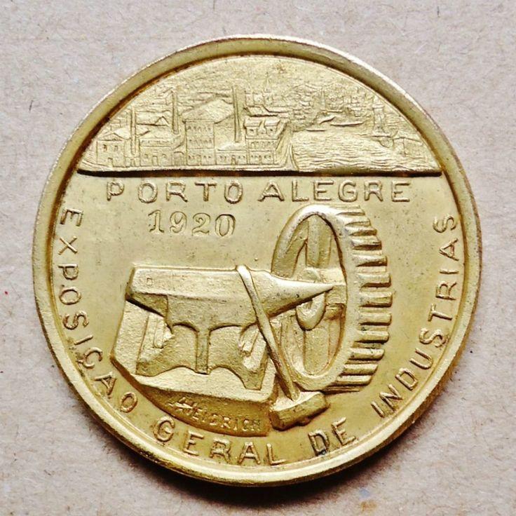 Medalha Brasil - Exposição Geral De Indústrias De 1920