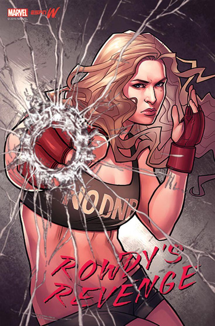 Marvel transforma Ronda Rousey e atletas mundiais em heroínas! - Legião dos Heróis