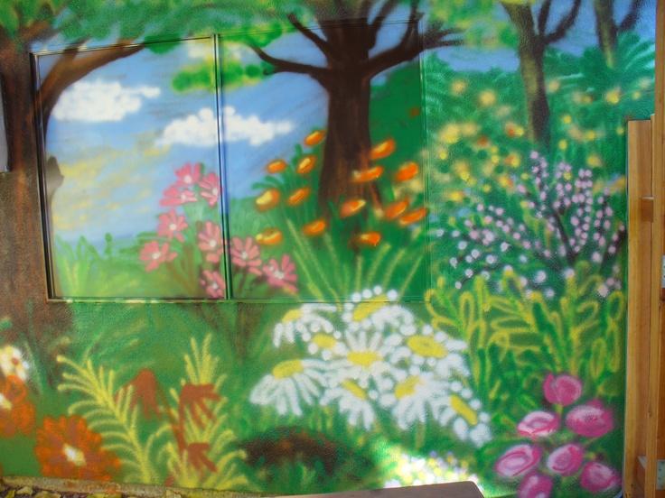 The 79 best Garden murals images on Pinterest | Murals, Garden ...
