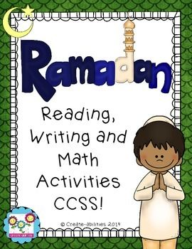 Ramadan Activity Book, led by a boy named Tannaz who is celebrating his first Ramadan.