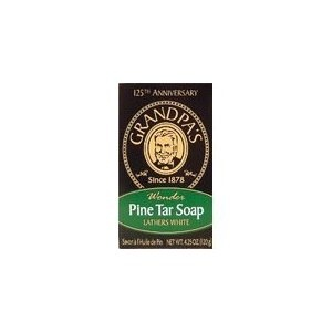 Grandpa Soap Pine Tar 4.25 Ounces