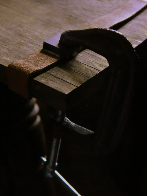 Build up a C-clamp and it can be a grab bar for a table.