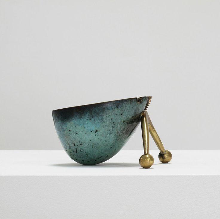 Maurice Ascalon Bronze 'snail ashtray'