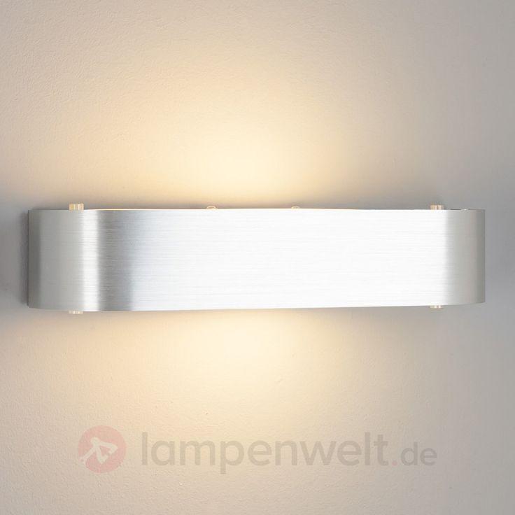 Aluminium Wandlampe Nika Mit E14 LED Lampe Sicher Amp Bequem Online Bestellen