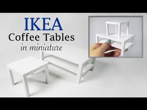 DIY Miniature IKEA Inspired Tables | Creating Dollhouse Miniatures | Bloglovin'