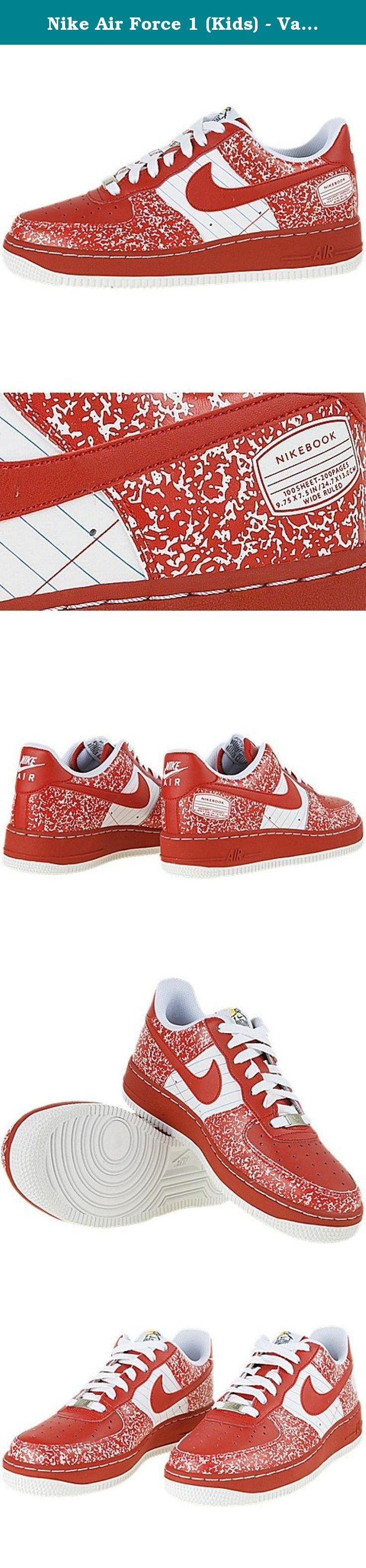 Nike Air Force 1 (Kids) - Varsity Red / Varsity Red-White, 5.5 M US. Nike's Air Force 1 youth retro shoes are one of if not the iconic basketball and retro shoe on the market today. They have been global leaders for 25 years, and just like the people that strap them on, they aren't going to be stopped anytime soon. If you are looking for the perfect shoe, the Nike's Air Force 1 youth retro shoes are considered by a lot of shoe aficionados to be such a holy grail of footwear. The nice…
