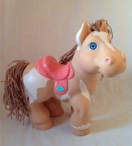 1992 Cabbage Patch Kids Crimp N Curl Pony Horse Paint Plastic ...