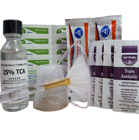 25% TCA Peel Kit  Full Detailed Instruction by THEORYSkinCareCo