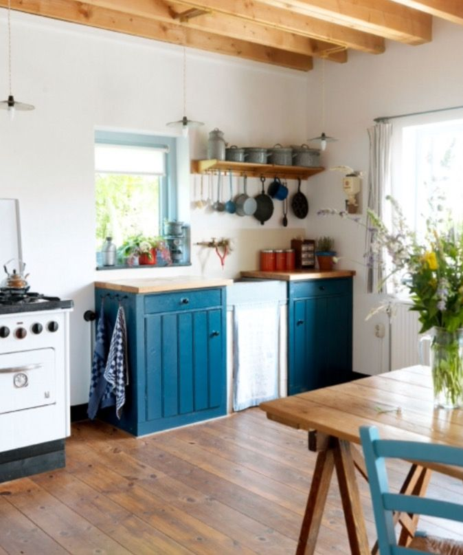 "This lovely cottage kitchen is from our feature ""Green Fingers"""