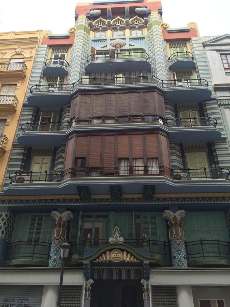 Casa jud a art dec en valencia espa a 1930 - Art deco espana ...