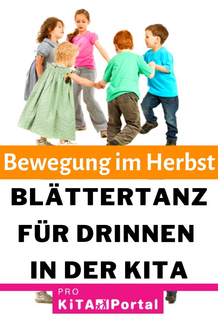Blättertanz für drinnen in der Kita | Bewegung im Herbst | Mit Kindern zu einer Geschichte tanzen  – PRO Kita Verlag