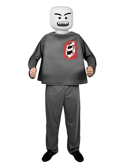Minifigur Zombie Halloweenkostüm #halloween #costume #lego #zombie #grey