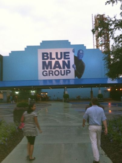 Blue Man Group Show at Universal Orlando Resort | Orlando ...