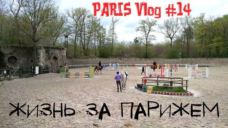 Paris Vlog #14 ★ Жизнь в пригороде Парижа ★ Конный спорт ★ Лес возле Пар...