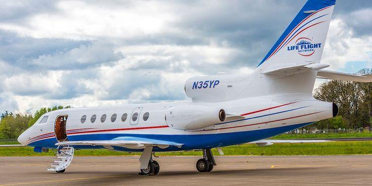 Life Flight Network Adds a Falcon 50 to its Fleet - AviationTribune