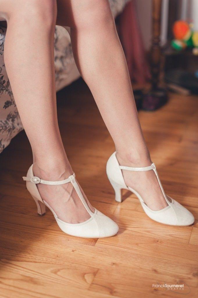 Zapatos de novia – Franck Tourneret Fotógrafo Rodez Aveyron – Sí, hago la boda   – Shoes