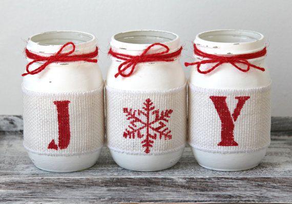 Decoraciones de Navidad caseras rústico Navidad Home Decor