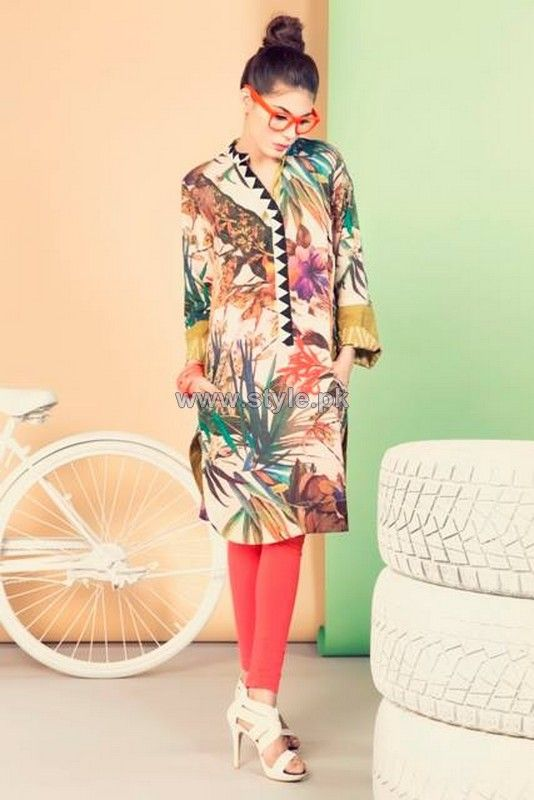 Coco Summer Dresses 2014 By Zara Shahjahan