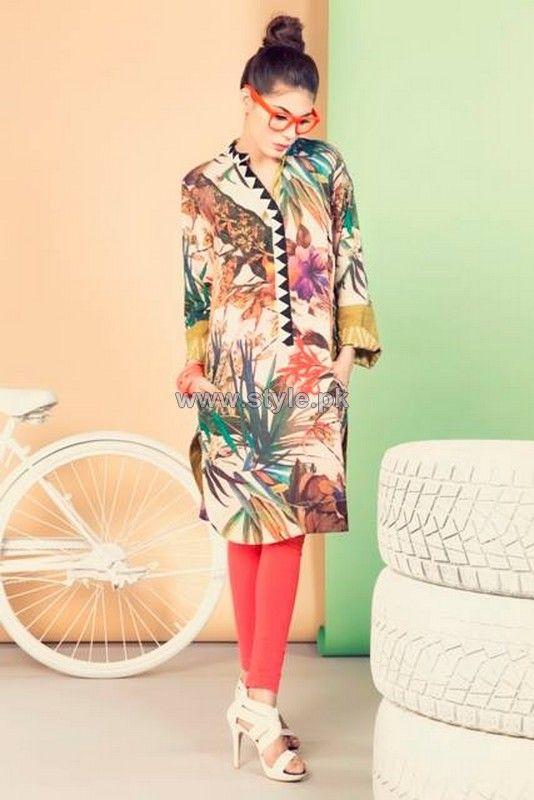 Coco Summer Dresses 2014 By Zara Shahjahan
