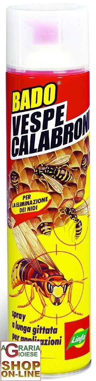 LINFA BADO SPRAY VESPE CALABRONI ML. 600 http://www.decariashop.it/insetticidi/9090-linfa-bado-spray-vespe-calabroni-ml-600.html