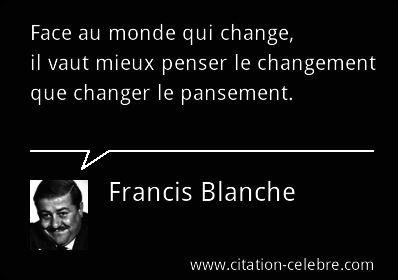 Contrepèterie de Francis Blanche.