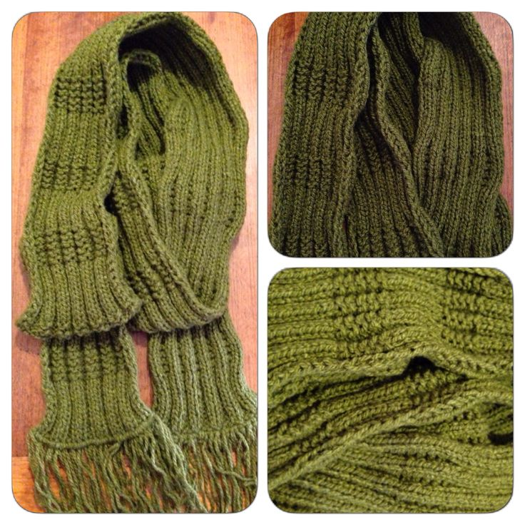 Palillos: Un regalo para mi papá / Knitting: A gift for my dad