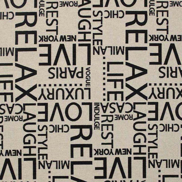 Warwick Fabrics : MOMA, Colour IVORY