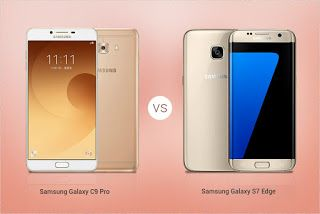 Here is the latest phone in 2017 which Samsung galaxy c9 pro and Samsung S7 Edge. Let's compare those two phones and then decide which...