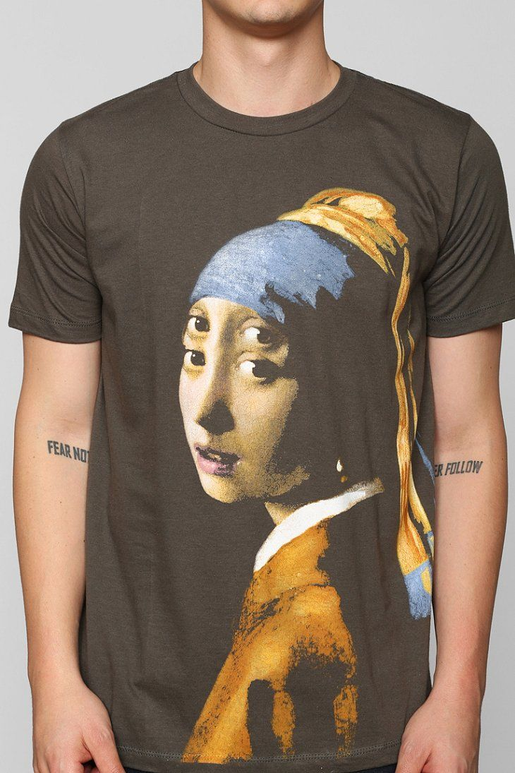 Girl With The Pearl Earring Double Eyes Tee