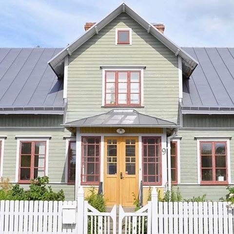 Bildresultat för färgsättning gamla hus