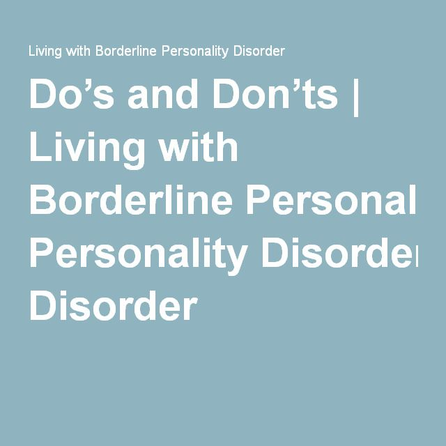 borderline personality disorder dating bipolar Experts note that one of the main differentiating factors between bipolar and borderline personality disorder is that  within relationships, while bipolar.