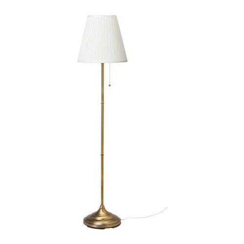 IKEA - ÅRSTID, Lampadaire, , L'abat-jour en tissu offre une lumière diffuse et décorative.