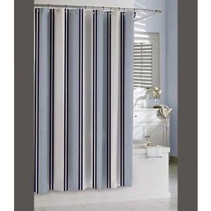 marina stripe kassatex shower curtain kassatex marina stripe are made of 100