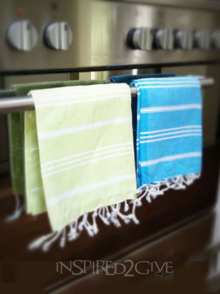 Inspired 2 Give Hand Towels assorted colours