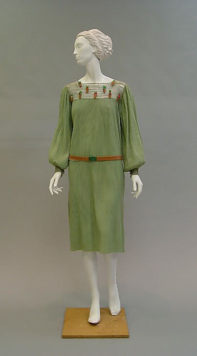 Ensemble 1925, French, Made of wool